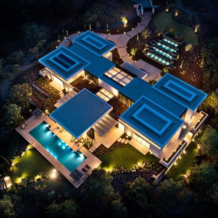 184 Curtidas 6 Comentários Luxury Houses Mansions Luxeestate No Instagram Day In A 32m Villa Can You C Mansions Luxury House Designs Mega Mansions