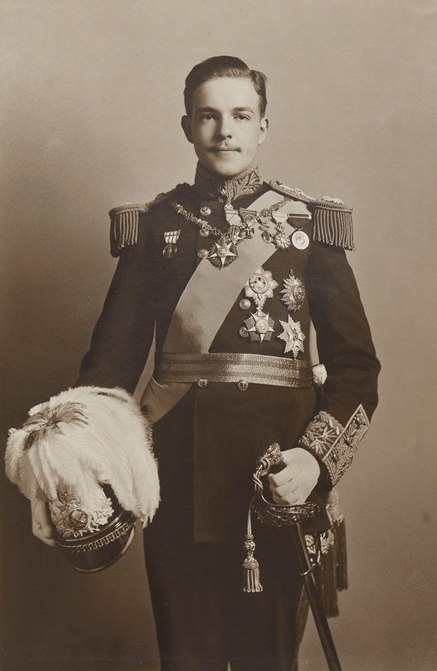 Manuel II, King of Portugal. 1909