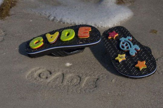 Beach Fun: Sand Imprint Flip Flops — Family Fun