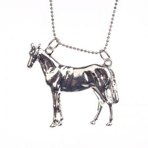 Gallant horse necklace