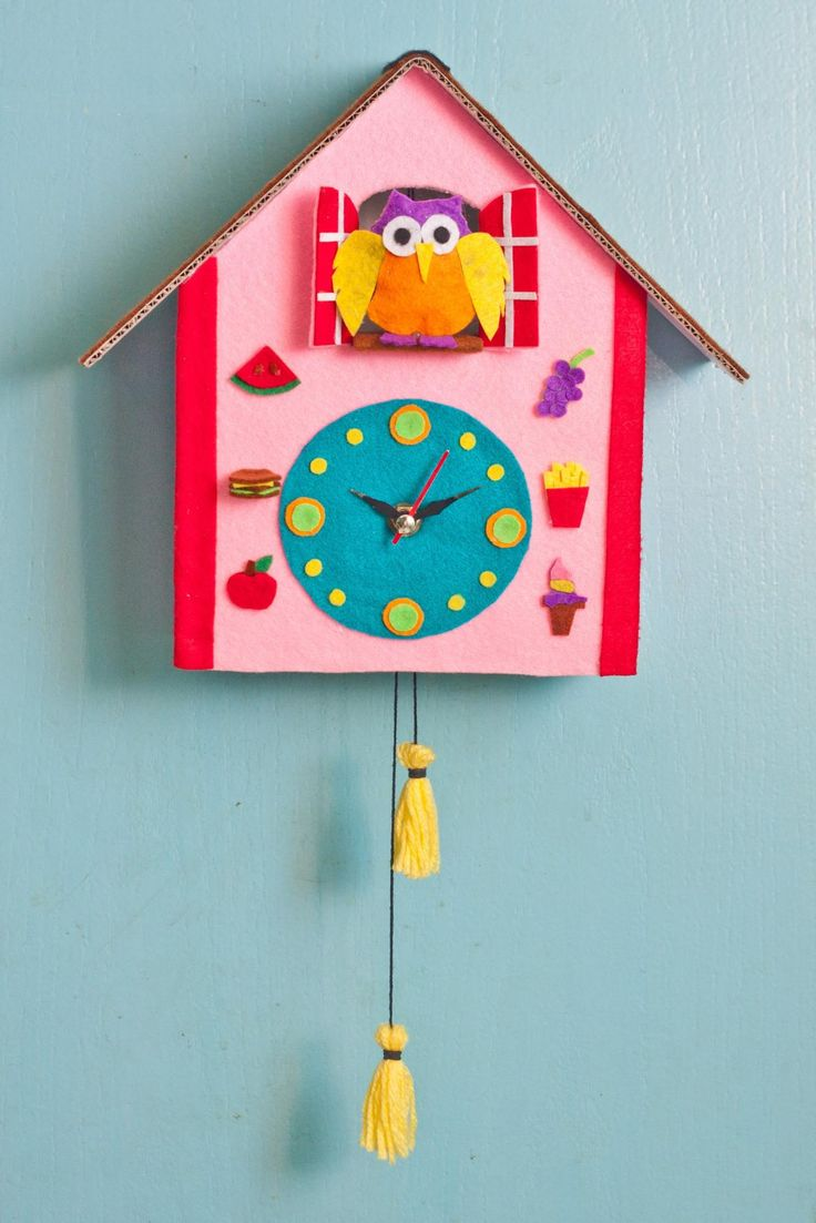 How To Make A Cuckoo Clock Out Of Cardboard For Kids