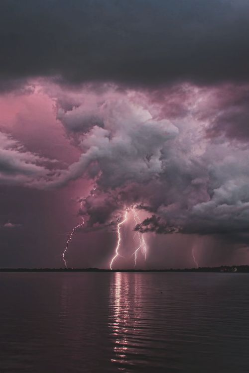 Lightening Storm Over Tampa Florida ~ James Cundiff