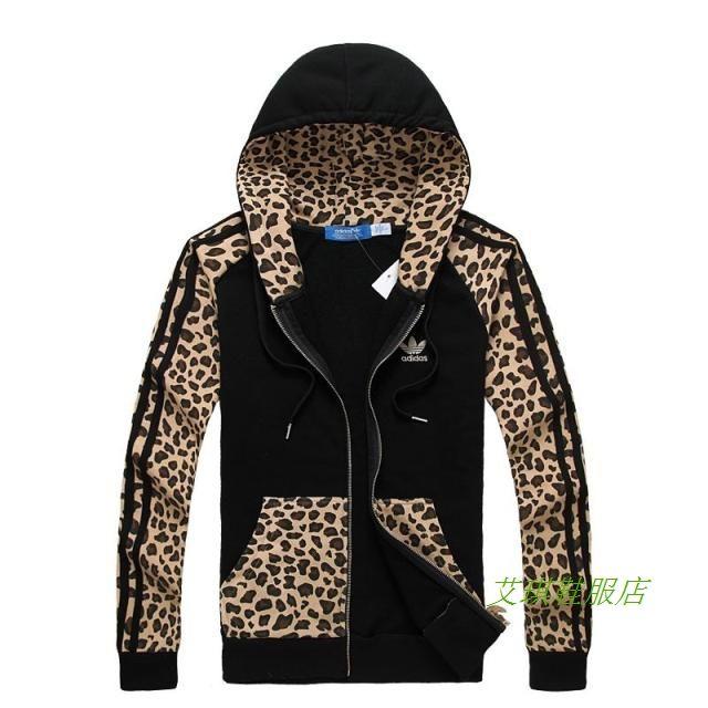 2014 tidig höst nytt mode bomull tröja jacka leopard sexig kvinnlig avslappnade sport huva kofta tröja tidvattnet - Taobao