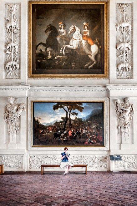 La Venaria Reale - near Turin, Italy #Baroque palace, architect Amedeo di Castellamonte 1675  [Photo by Giuliano Iunco]