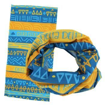 Delta Delta Delta Wide Head Buff SALE $12.95. - Greek Clothing and Merchandise - Greek Gear®