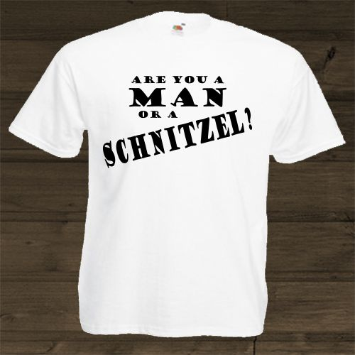 Wittyshirts - Are you a man or a Schnitzel?, R180.00 (http://www.wittyshirts.co.za/are-you-a-man-or-a-schnitzel/)