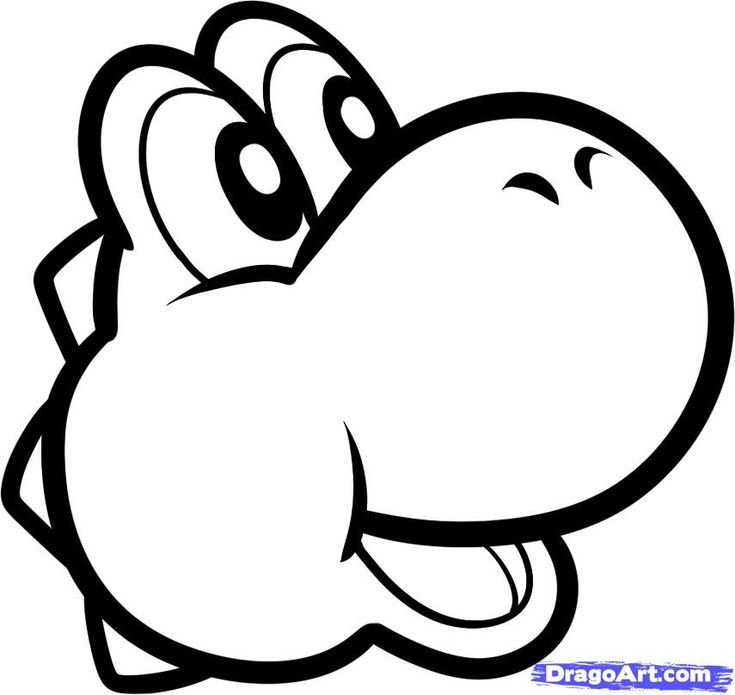 How to Draw Yoshi Easy, Step by Step, Video Game Characters, Pop Culture, FREE Online Drawing Tutorial, Added by Dawn, March 27, 2012, 8:36:...