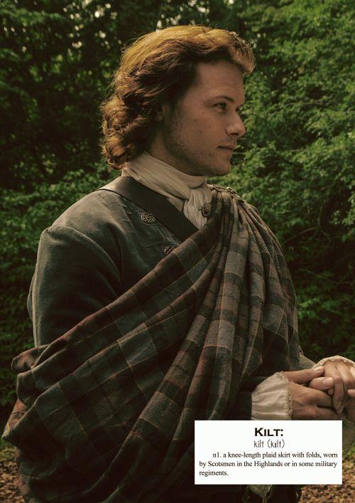 Outlander definitions.- Kilt. (x)
