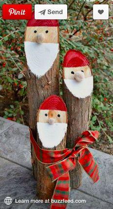 Log Santas