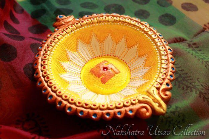Nakshatra Utsav Collection: Decorative Diwali Diya_007