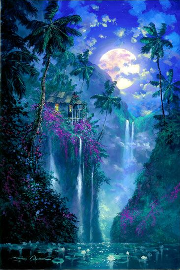 Mystical places - we dream of these in order to escape find true meaning mystery. Some believe that a mystical place can also be a representation of the Higher Self or Godhead trying to get our attention.