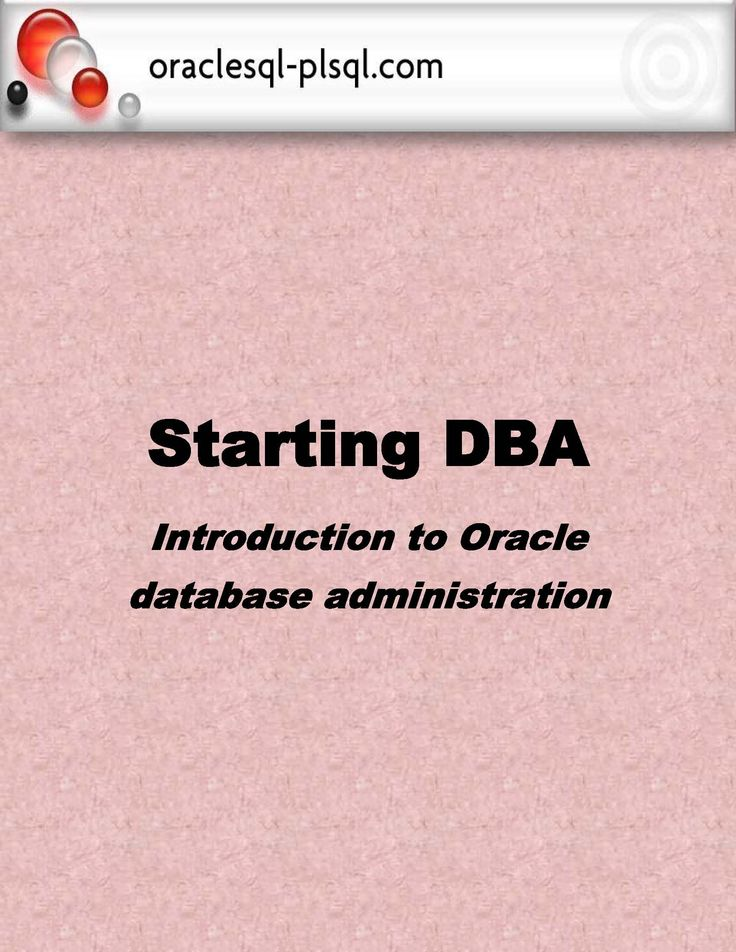 Articles on oracle database administration.RMAN, Backup & Recovery, Datapump and export/import, database auditing etc are important concepts in oracle database administration. All these are well explained in this eBook. Each topic is described with appropriate examples.