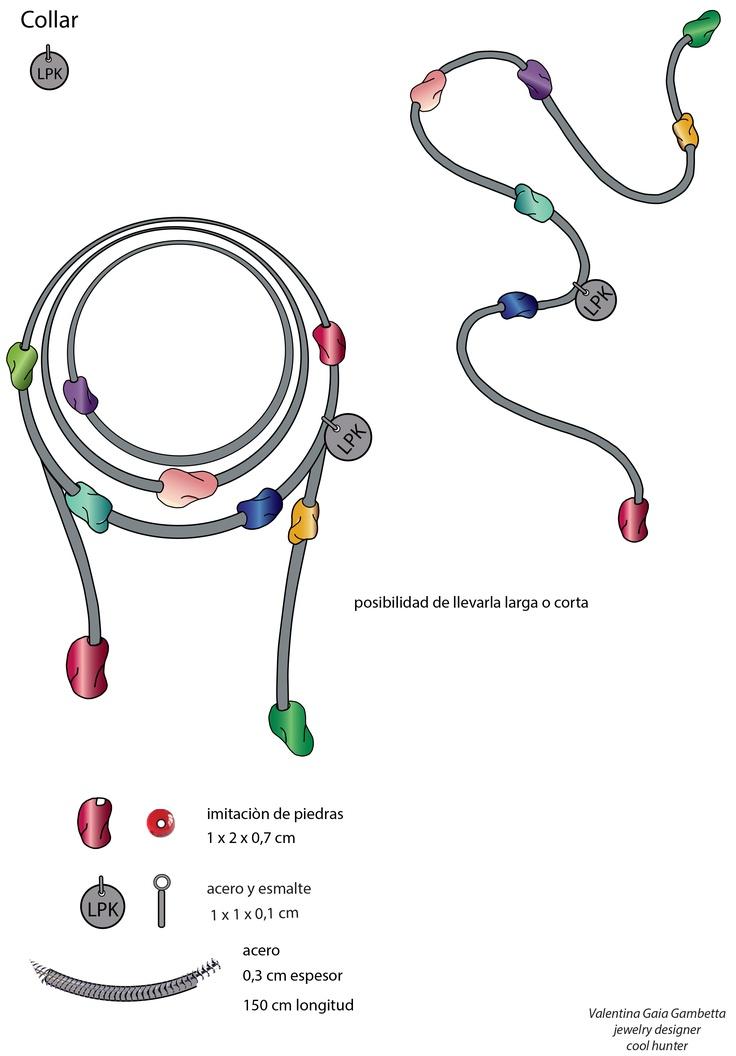"""Jewellery_""""El Pulgarcito"""" necklace"""