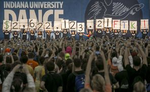 IU Dance Marathon raises $2.6 million for Riley's Hospital for Children