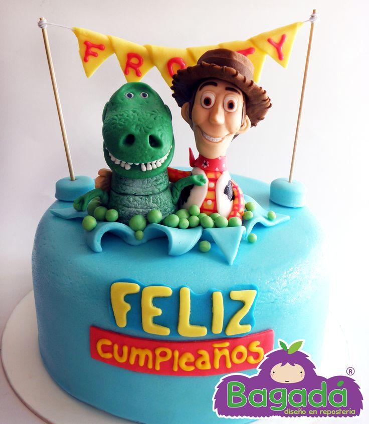 Pastel Toy Story. Bagadá repostería Tel. (33) 15 95 49 84 echalegalleta@gmail.com FB echalegalletapag