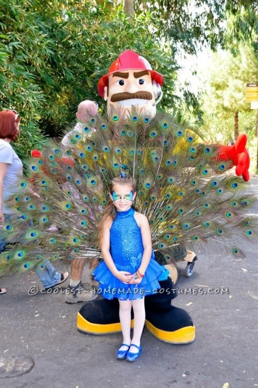 Best Homemade Peacock Costume for a Six Year Old Girl ... This website is the Pinterest of costumes