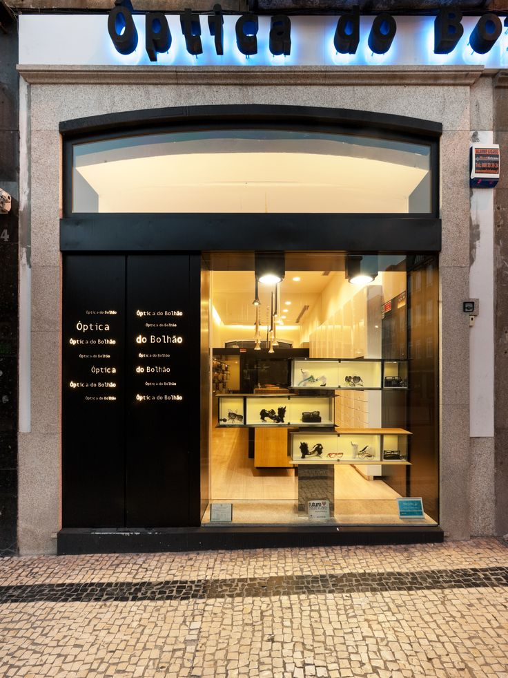 XYZ Arquitectos Associados - Óptica do Bolhão - Porto - Portugal - interior design - optical store