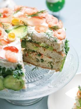Zweedse hartige broodtaart met gerookte vis en kruiden | Spar