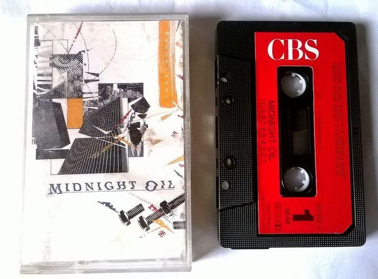 MIDNIGHT OIL - 12345678910 - K7 - cassette audio tape /