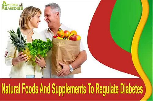 You can find more details about the natural foods to regulate diabetes at http://www.ayushremedies.com/diabetes-herbal-remedy.htm Dear friend, in this video we are going to discuss about the natural foods to regulate diabetes. Diabkil capsule is one of the natural supplements to regulate diabetes.