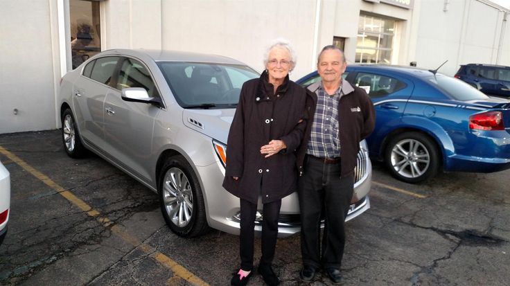 RONALD AND PATSY's new 2016 Buick LaCrosse! Congratulations and best wishes from Kunes Country Auto Group of Sterling and Scott Bice.