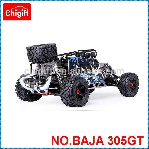 1:5 scale gas RC car 30.5cc four bolt engine RC BAJA with GT shell