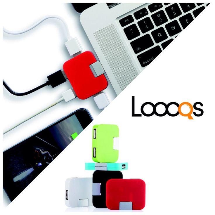 Loooqs Travel USB hub