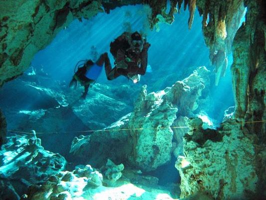 Yucatan Cave Dive