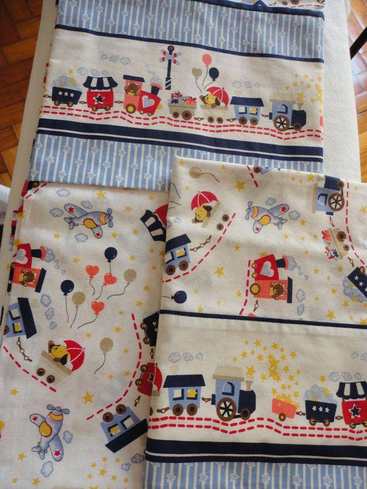 Jogo de lençol - para berço, mini berço ou mini cama Confeccionado por Maete Atelier www.facebook.com/maete.atelier teresi@globo.com