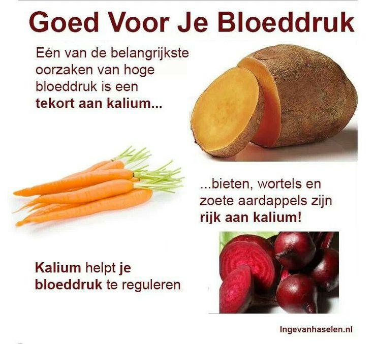 Goed voor je bloeddruk