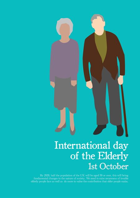 International Day of the Elderly | Design a Day