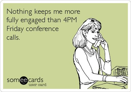 #conference #nothing #engaged #friday #keeps #fully