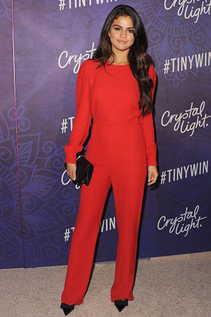 Selena Gomez in Valentino at the 2014 Variety & Women in Film Emmy Nominee Celebration