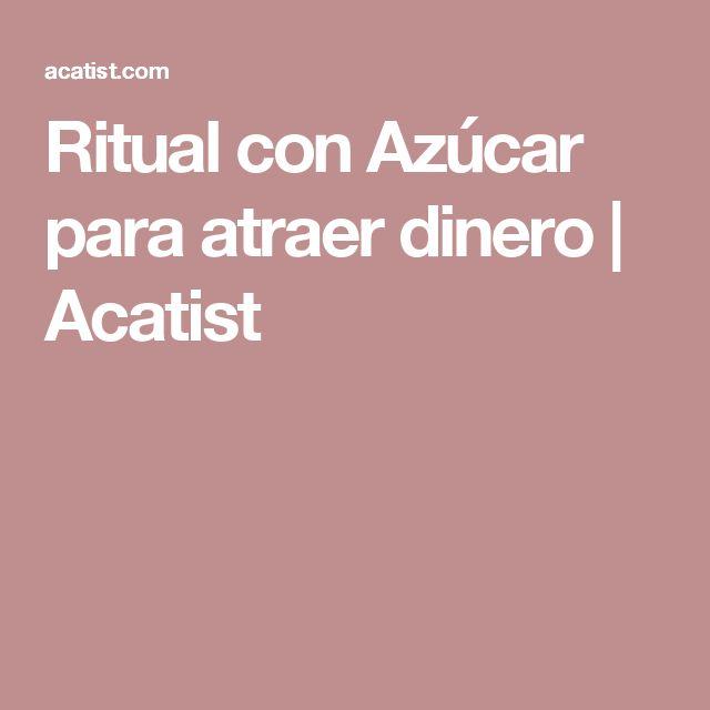 Ritual con Azúcar para atraer dinero   Acatist