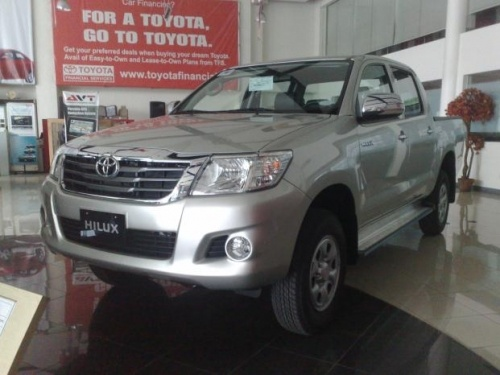 Brand New 2012 Toyota Hilux 2.5Li E 4x2 M/T Dsl check it ... Cars For Sale Philippines