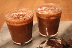 Varm kakao til en kald vinterkveld