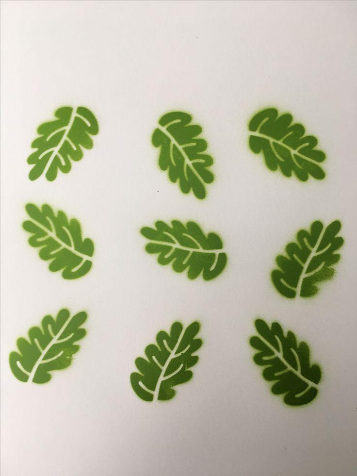 9 leaves