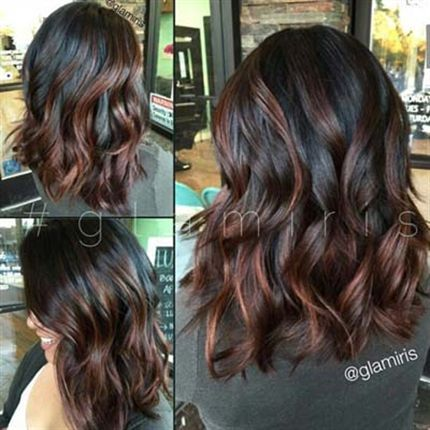 Dark with warm highlights, perfect for fall!