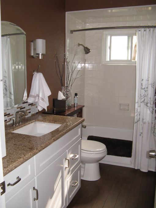 Brown Is The New Green Bathroom Designs Decorating Ideas HGTV Rate My S