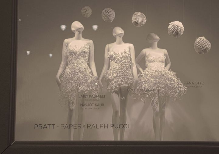 Pratt + Paper & Ralph Pucci at Macys visual merchandising
