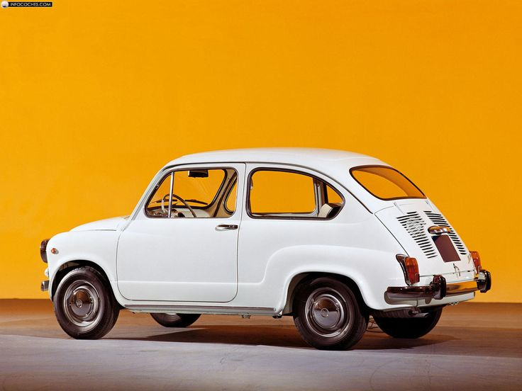 Fiat 600 La Bolita que aun vemos andar por las calles