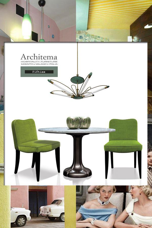 ARCHITEMA - MOMA dining chair & ZAGARA table