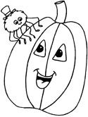 Friendly Halloween coloring pages to download and print