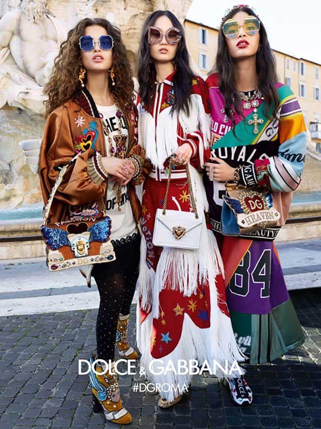 8b029dc59e48 Dolce   Gabbana Eyewear Fall Winter 2018 2019 Ad Campaign.  dolcegabbana   women