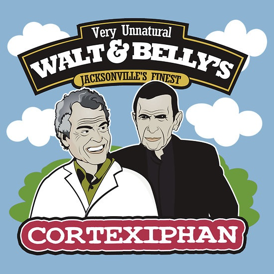 Walt & Bellys by Tom Trager at Redbubble #fringe #television #tshirt