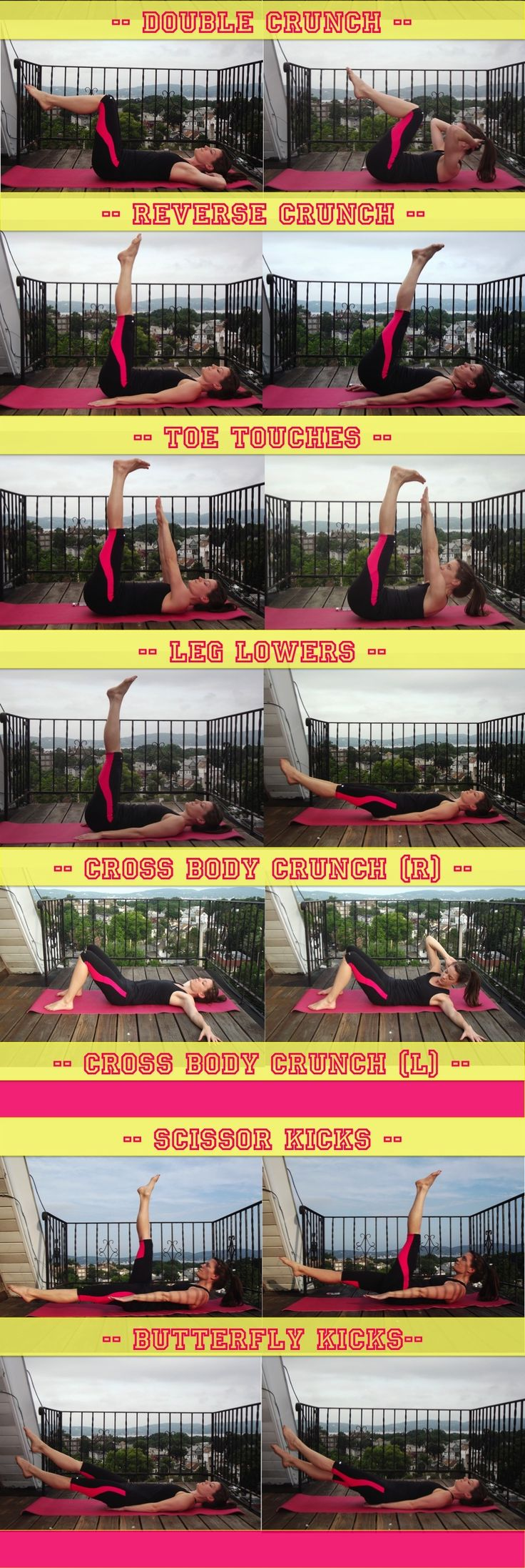 Shawn Johnson's The Body Department - Low Ab Workout