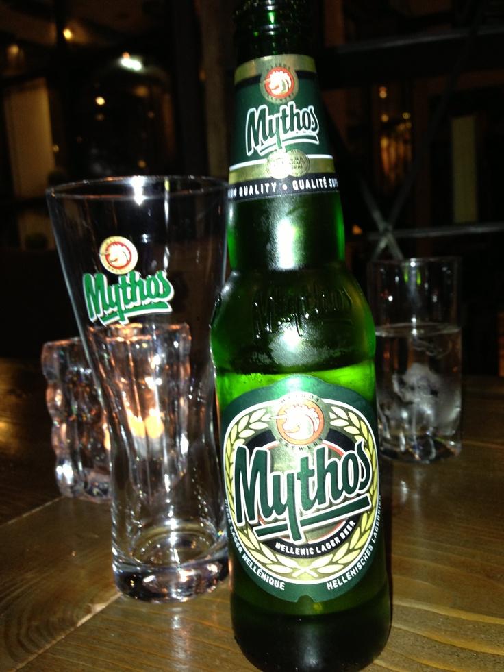 Mythos: Greek beer... :-)