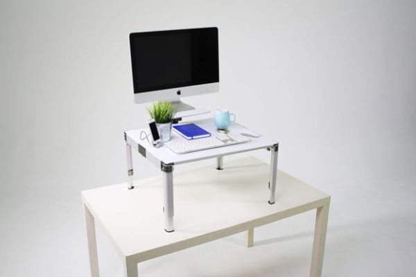 ZestDesk Is the World's First Portable and Adjustable Standing Desk