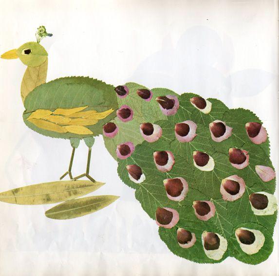"""(Leaf Pictures Kids Crafts) -- atelier pour enfants: """"Des feuilles très, très chouettes"""""""