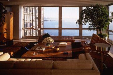 contemporary living room by Powell/Kleinschmidt, Inc.